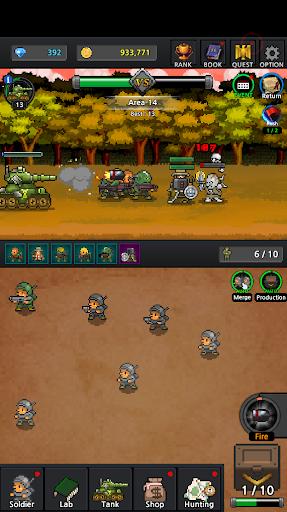 Grow Soldier - Idle Merge game apkdebit screenshots 3