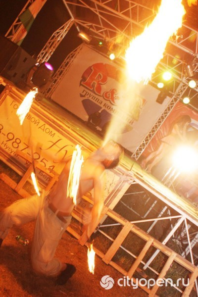 Театр Огня «Hot Heads» в Уфе