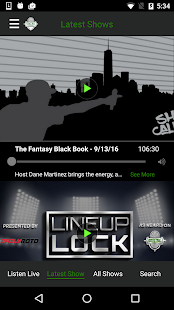 Fantasy Sports Network Radio- screenshot thumbnail