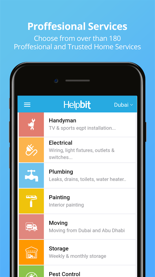 Helpbit- Electronics Repair & Home Services- screenshot
