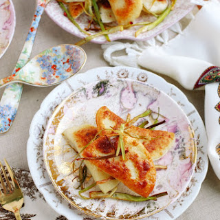 Potato and Cheese Pierogi with Frizzled Leeks