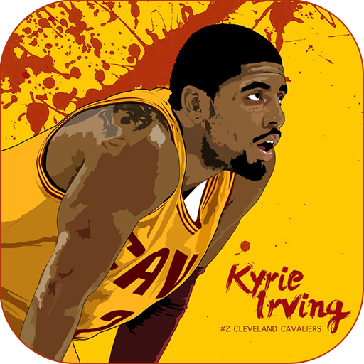 HD Kyrie Irving Wallpaper Icon