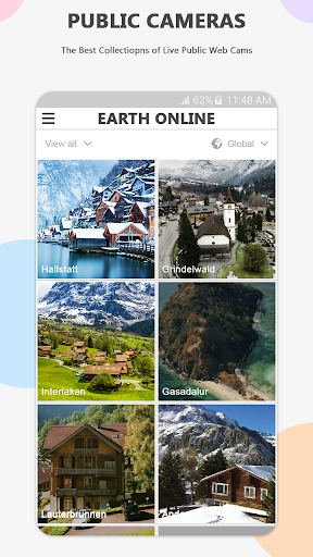 Earth Online Live World Webcams screenshot 1