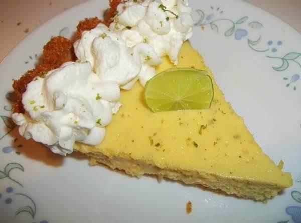 Delicious Creamy Key Lime Pie