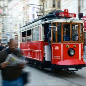 Turkey, Istanbul by Rosita Ramner - Transportation Railway Tracks