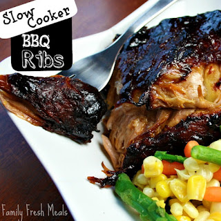 Slow Cooker Barbecue Ribs.