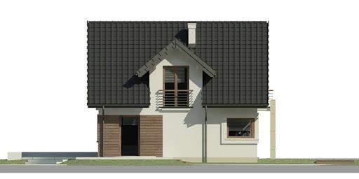 Dom przy Cyprysowej 31 - Elewacja lewa