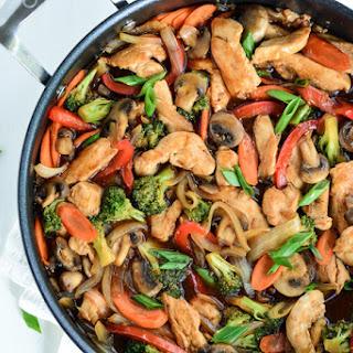 Chicken Broccoli Stir Fry.