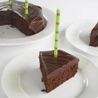 Decadent Brownie Cake.