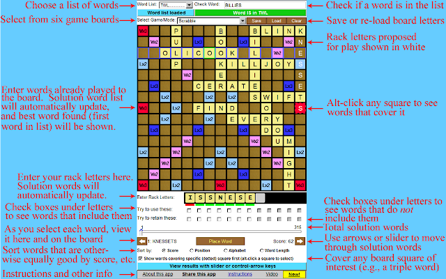 Lexifind Scrabble Helper & Word Game Wizard