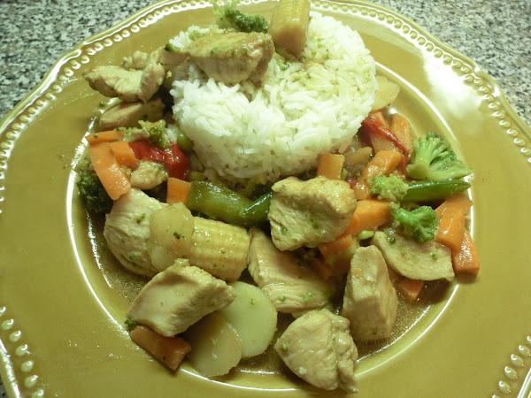 Oriental Chicken Stir Fry Recipe