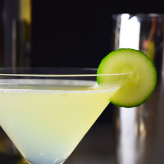 Cucumber Gin & Elderflower Martini