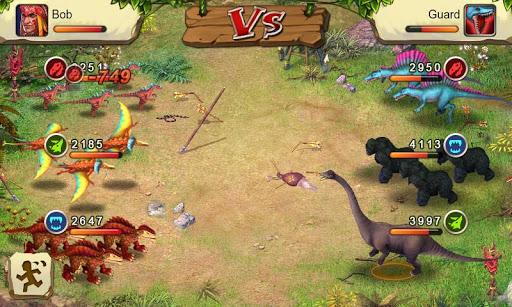 Dinosaur War screenshot 2