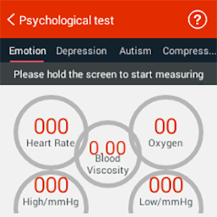 iCare Emotion Test Pro Screenshot