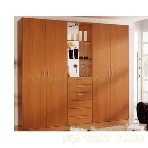 Nên chọn tủ áo gỗ tự nhiên hay tủ áo gỗ công nghiệp?