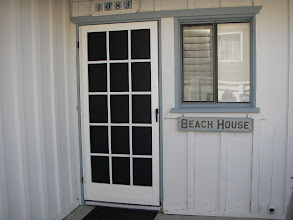 Photo: Front entrance, steps for the beach.