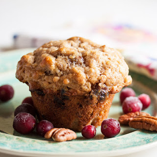 Oatmeal Muffins with Dates, Cranberries and Pecans Recipe