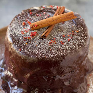 Gluten Free Chocolate Cake with Cinnamon & Chilli