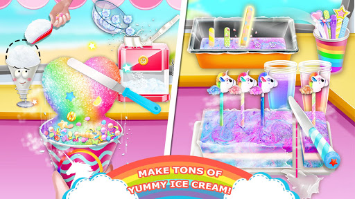 Code Triche Unicorn Chef: Summer Ice Foods - Cooking Games APK MOD screenshots 3
