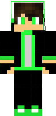 This is my Minecraft character for PC.