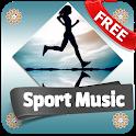Sport music offline app (workout,motivation) icon