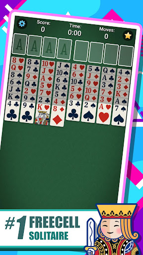 FreeCell Solitaire 5.4.0.3366 screenshots {n} 1