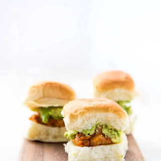 Chicken Chorizo Meatball Sliders.