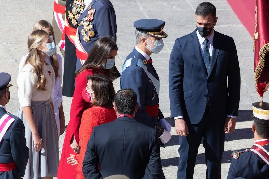 Celebración en Madrid del Día de la Hispanidad.