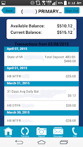 Great Lakes FCU Mobile Banking screenshot 2