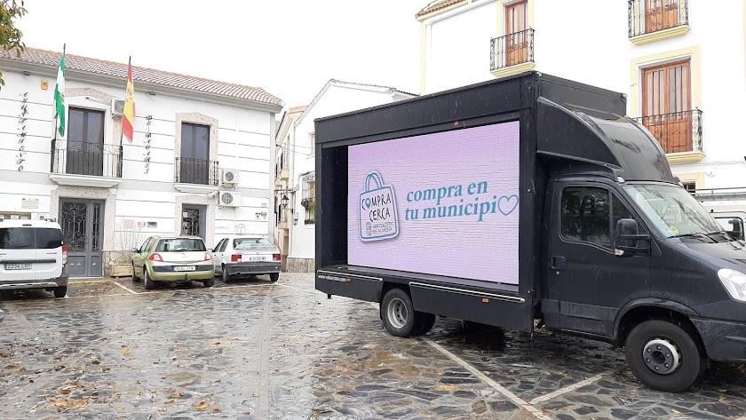 Campaña \'Compra cerca, compra en tu municipio\' de la Diputación Provincial de Almería.
