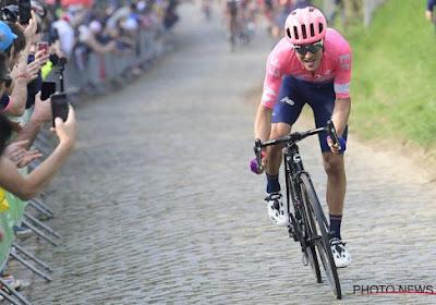 Ritwinnaar in de Giro dit seizoen verlengt contract bij zijn wielerploeg