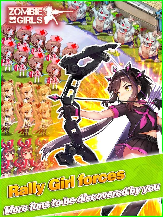 Screenshots of Last City: Zombie Girls for iPhone