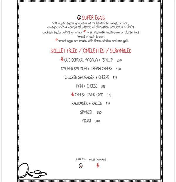 Smoke House Deli menu 3