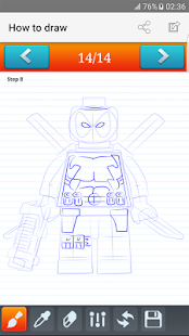 Download how to draw Lego for Windows Phone apk screenshot 1