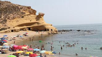 Playa pulpileña de Los Cocedores.