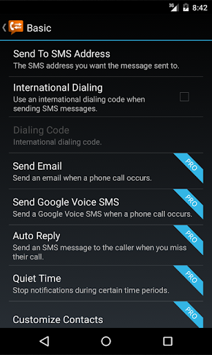 Call Messenger Lite 1.0.0 screenshots 2