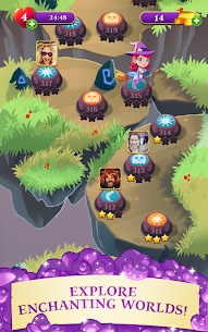Bubble Witch 3 Saga Mod Apk 6.8.4 (Unlimited Lives) 10