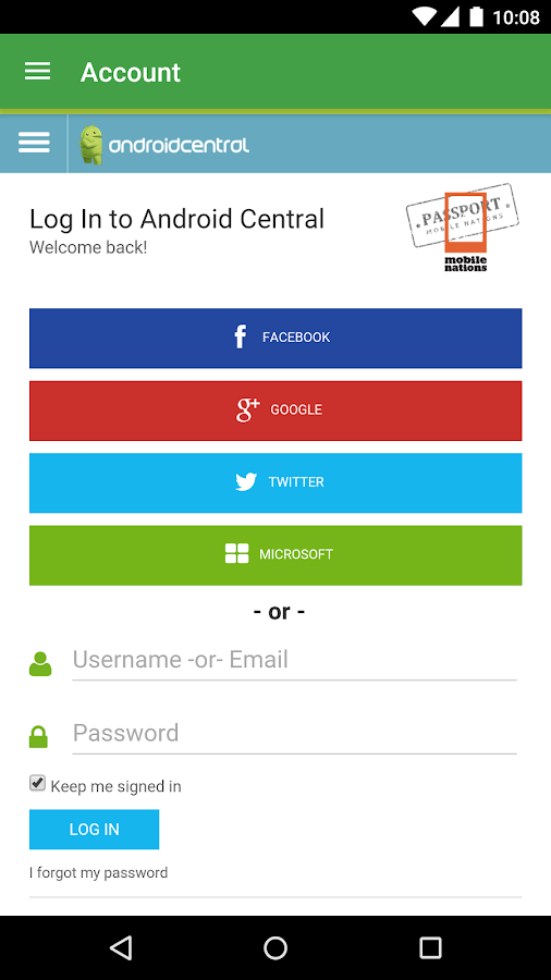 AC App for Android™- screenshot