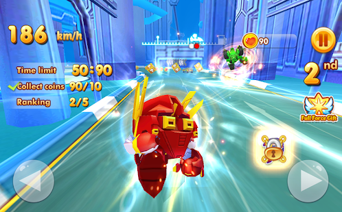 Sonic Chibi Race: 3D Free Kart & Car Racing Game Screenshot