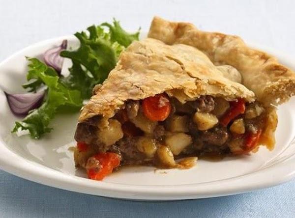 Ground Beef Pot Pie Recipe