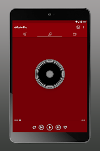 Music Player eMusic PRO mp3 player Screenshot