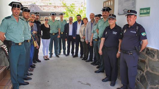 La comarca de Río Nacimiento agradece la labor de la Guardia Civil