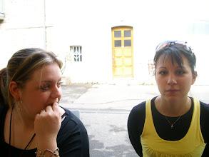 Photo: Jade et Stéphanie, là pour tenir la buvette, Merci à elles! :)