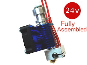 E3D All-metal v6 HotEnd Fully Assembled 3.00mm Bowden (24v)