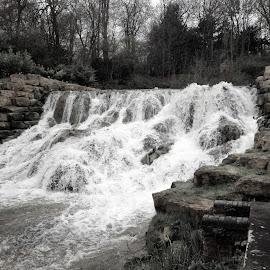 Water rush by Rhian Sampson - Nature Up Close Water (  )