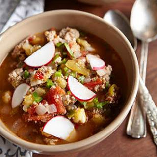 Tomatillo & Pork Chili