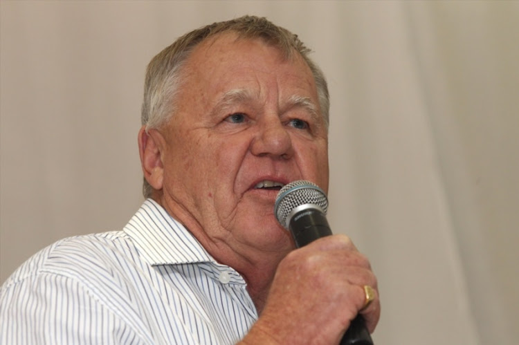 Mike Procter during the Old Greys Cape Town chapter Graeme Pollock benefit dinner at Western Province Cricket Club on November 06, 2014 in Cape Town.