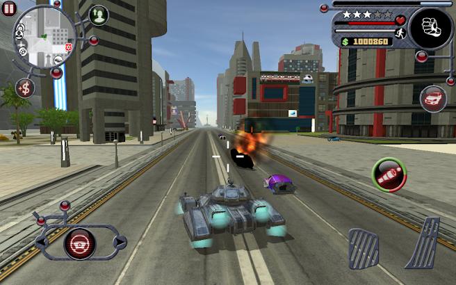 Future Crime Simulator screenshot