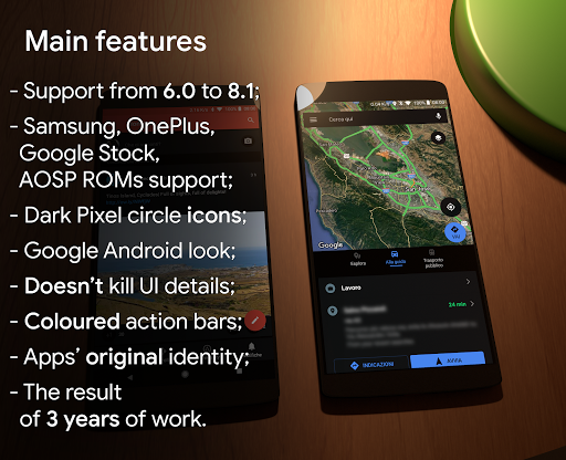 Substratum Black Theme+Samsung,Oreo,Pixel [aospUI]  screenshots 1