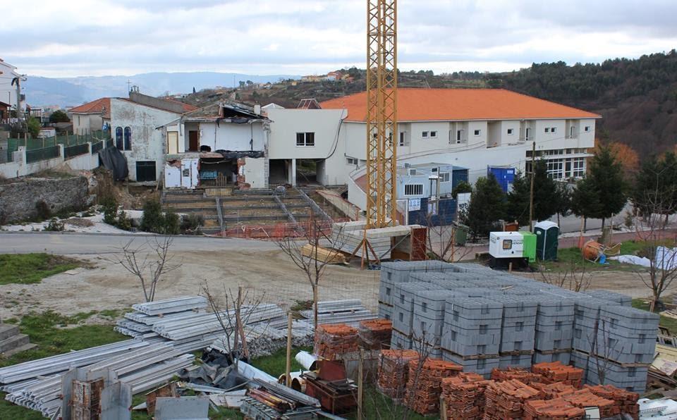 Remodelação do Lar de Arneirós avança a bom ritmo